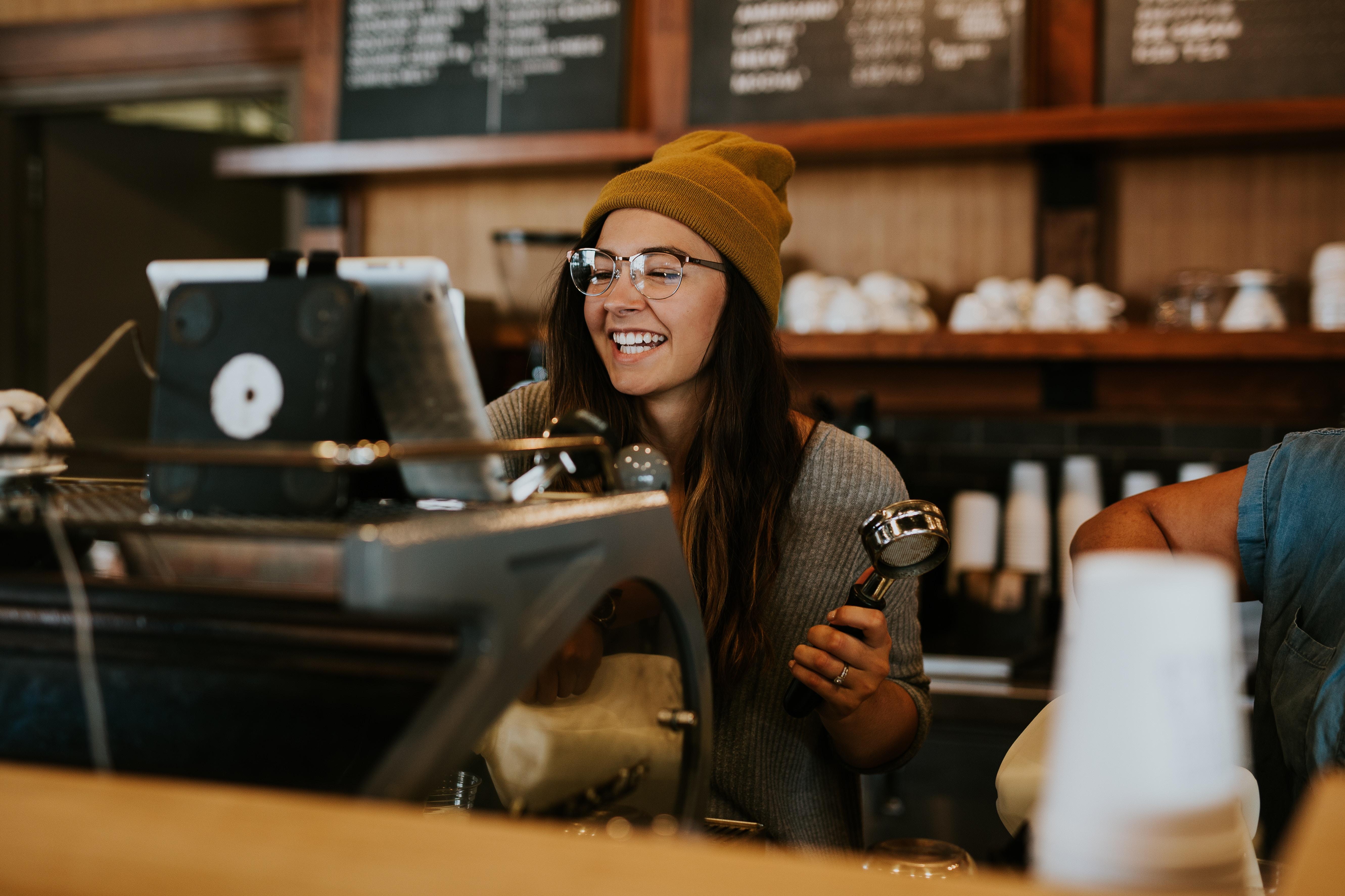 Onko unelmatyösi kahvilassa?